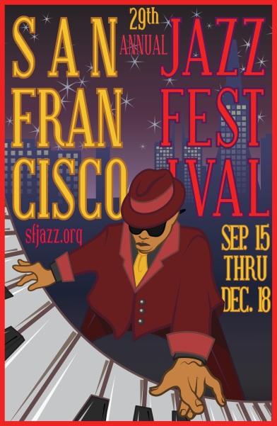 SF Jazz Festival Poster