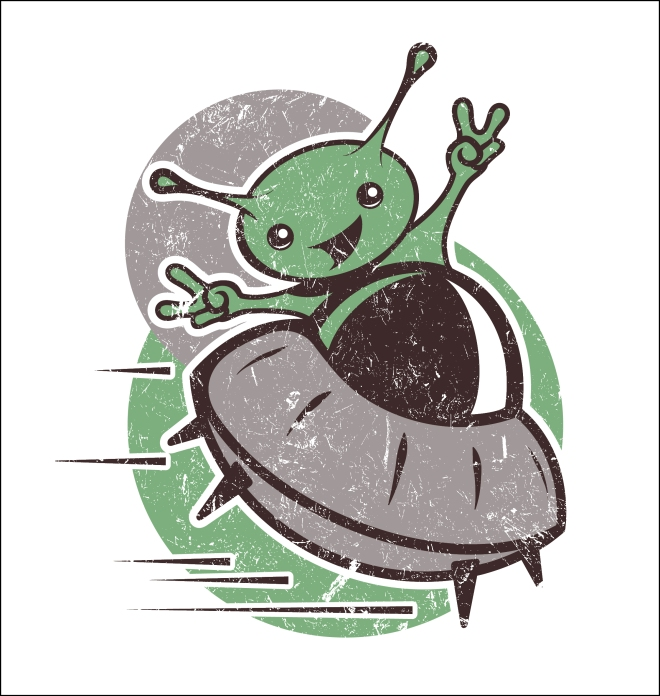 Alien Vector Art