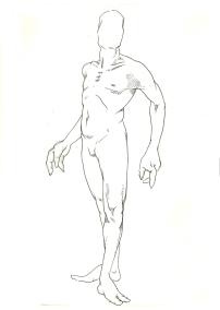 Pose Line Drawing