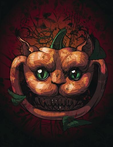 Cheshire Cat-O-Lantern