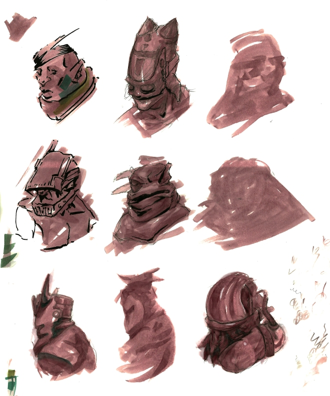 Bust Studies
